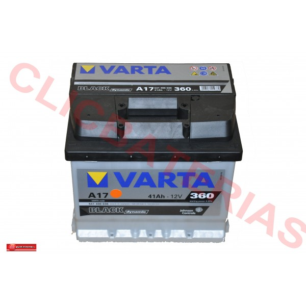 Varta Black Dynamic A17 (Baterias coches)