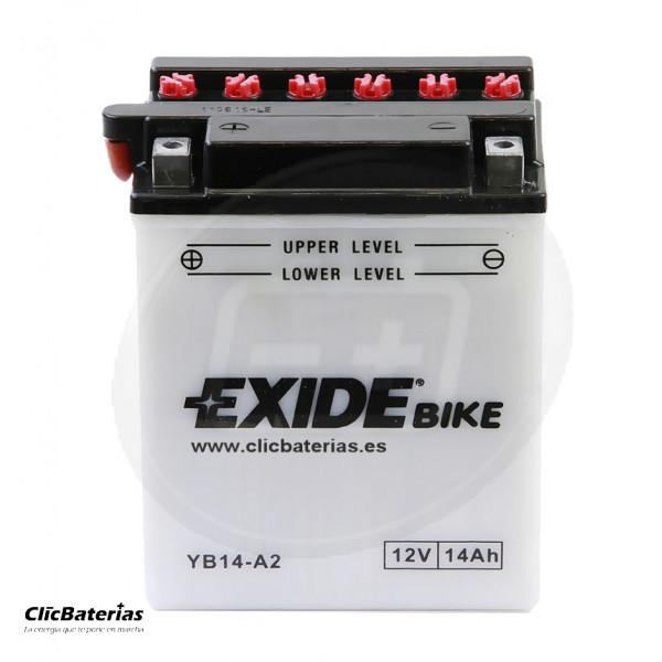 Batería YB14-A2 Exide para moto