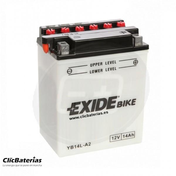 Batería moto YB14L-A2 Exide