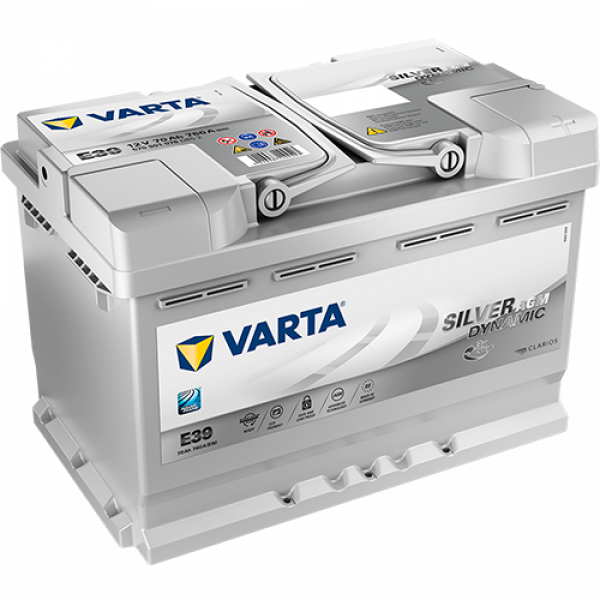 Batería VARTA E39 AGM Silver Dynamic