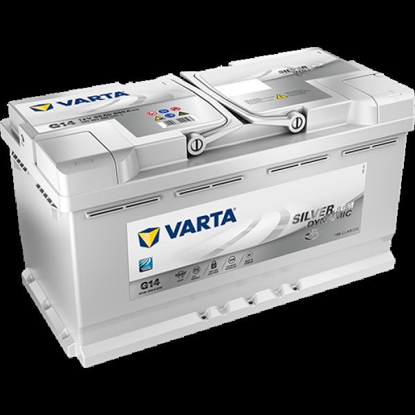 Batería VARTA G14 AGM Start/Stop