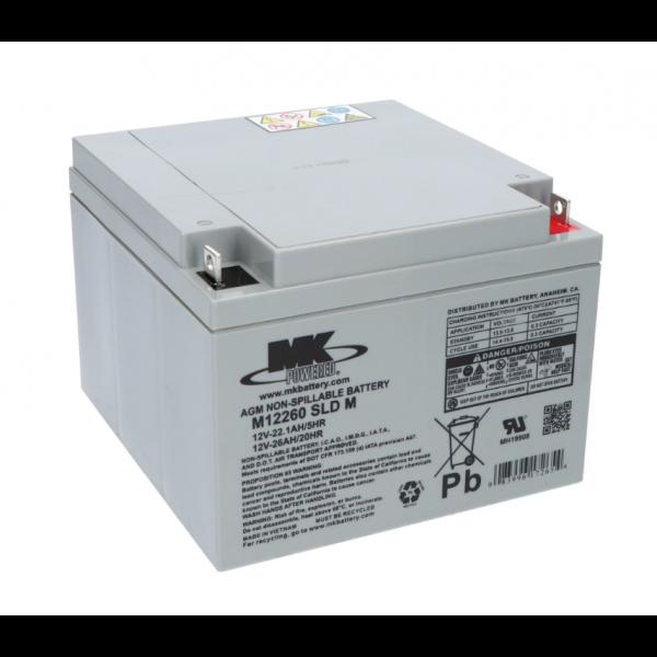 Batería MK Powered ES26-12 SLD M