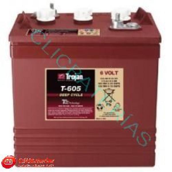 Batería Trojan Plomo Ácido T-605