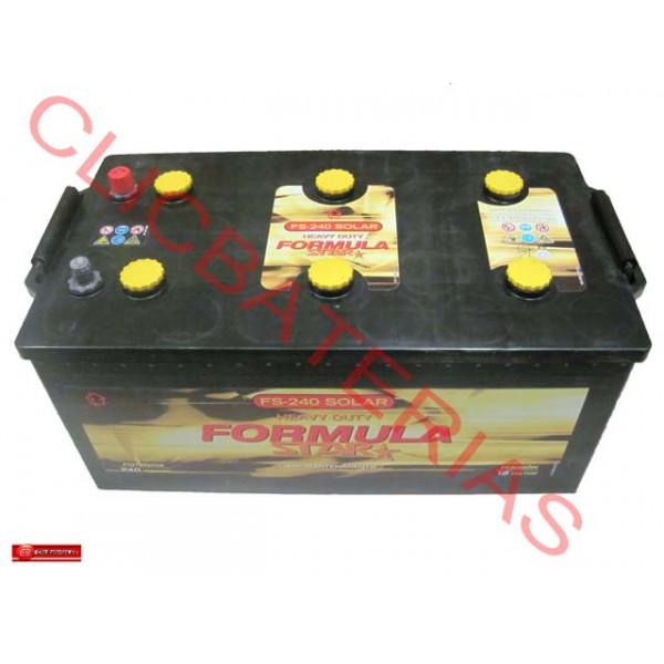 Batería Formula Star FS 240 Solar