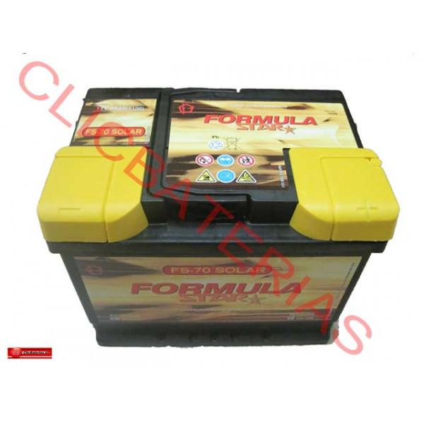 Batería Formula Star FS 70 Solar