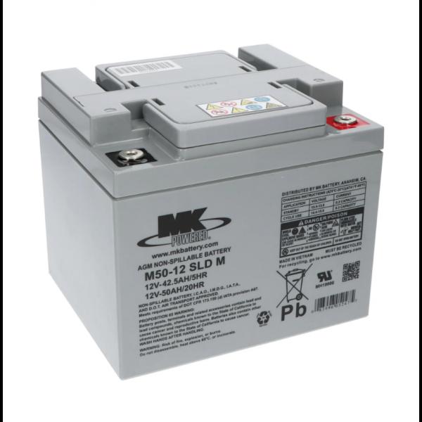 Bateria MK Powered M50-12 SLD M para sillas de ruedas