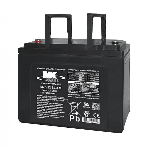 Bateria MK Powered M75-12 SLD M para sillas de ruedas