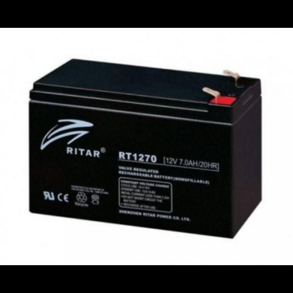 Bateria Ritar RT1270 aplicaciones medicas - audio - alarmas