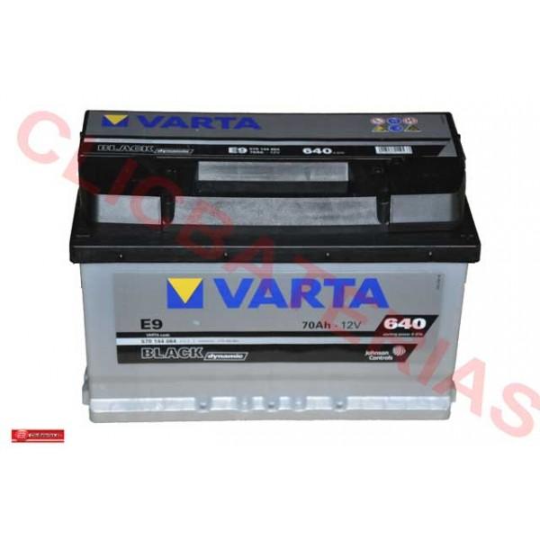 Batería Varta Black Dynamic E9