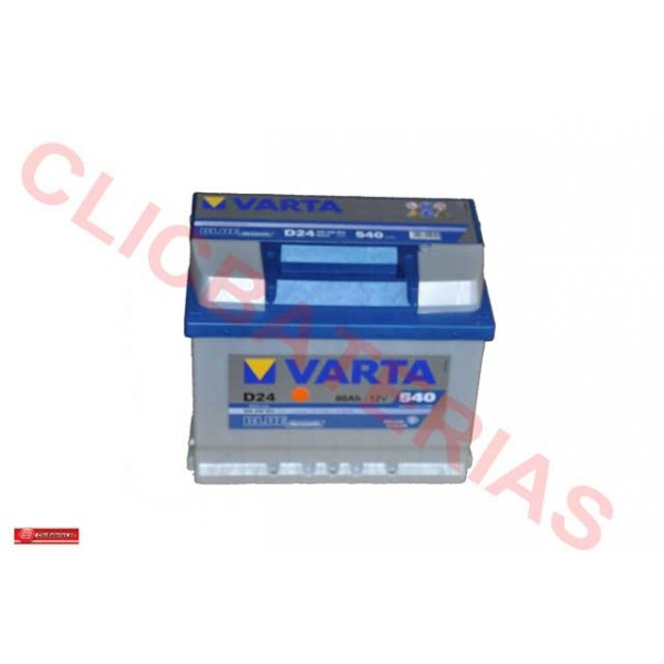 Bateria de coche Varta D24