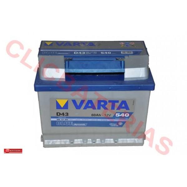 Batería Varta Blue Dynamic D43