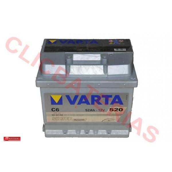 Batería de coche Varta Silver Dynamic C6