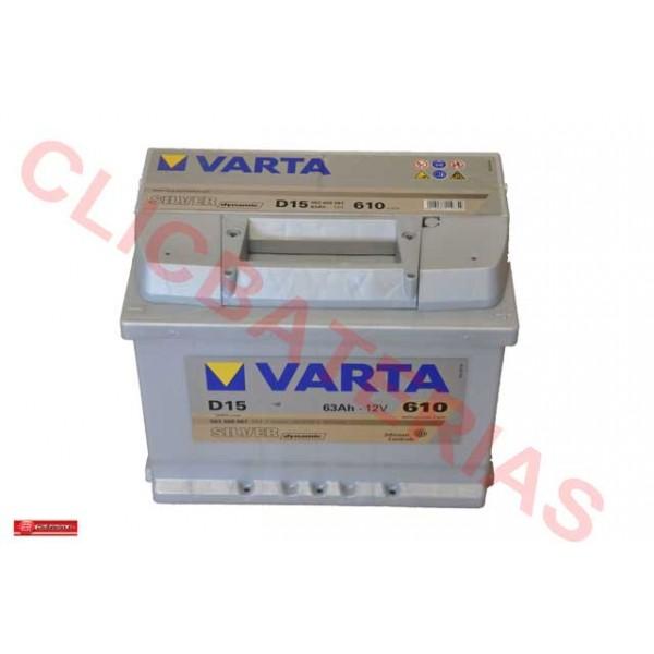 Bateria coche Varta D15