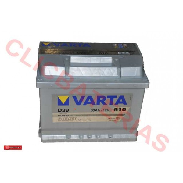 Batería Varta Silver Dynamic D39