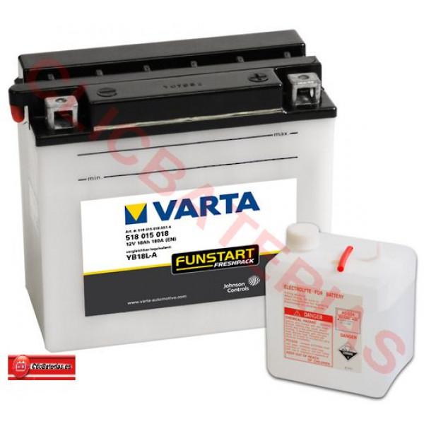 Batería de moto Varta Funstart Freshpack 51815 - YB18L-A