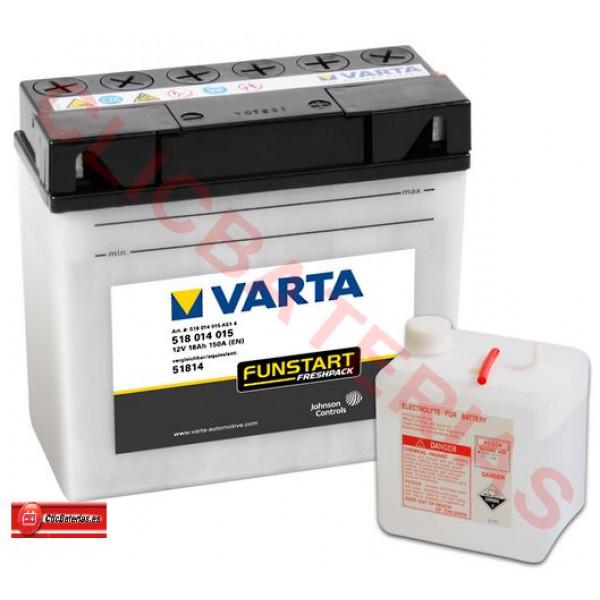 Batería de moto Varta Funstart Freshpack 51814