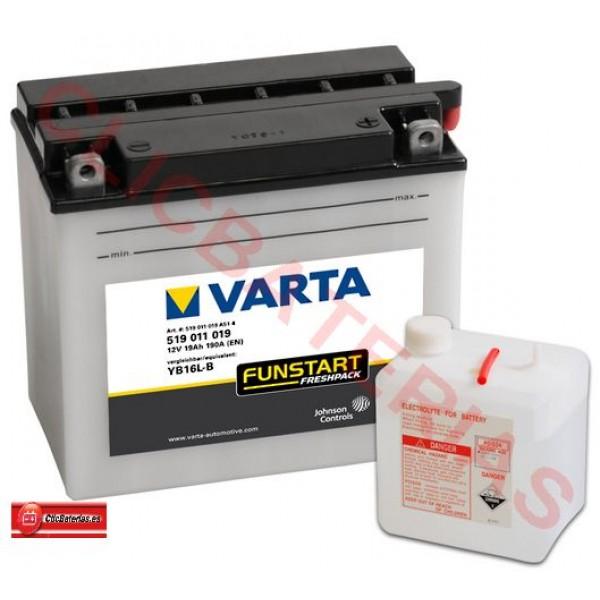 batería de moto Varta Funstart Freshpack 51911 - YB16L-B