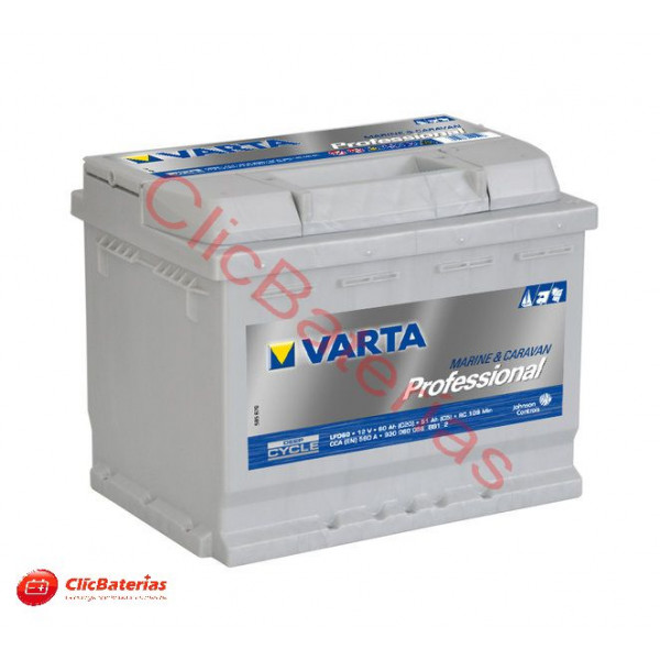 Batería Varta Professional Deep Cycle LFD60