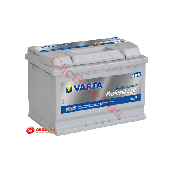 Batería Varta Professional Deep Cycle LFD75