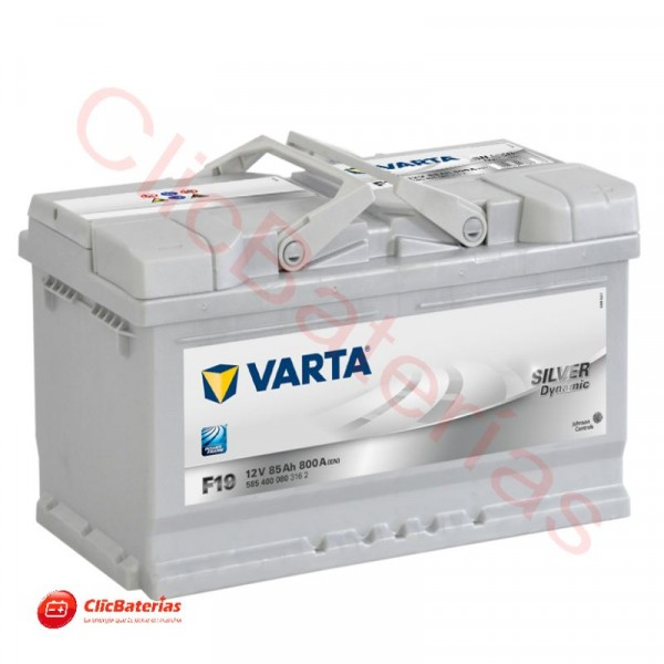 Batería de Coche Varta Silver Dynamic F19