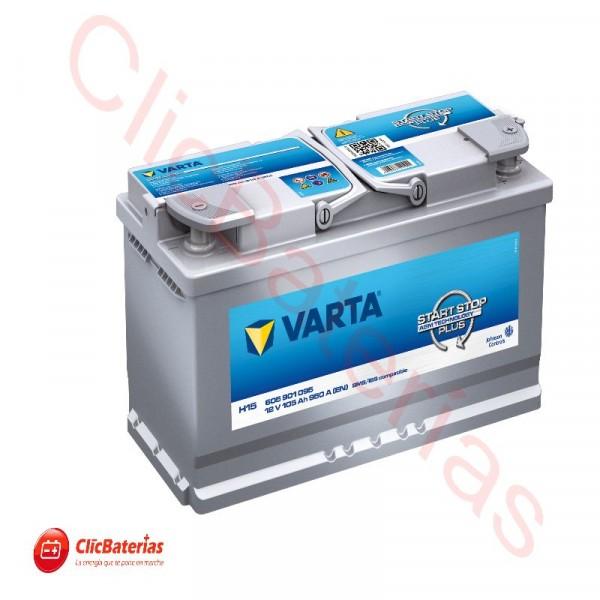 Batería de coche Varta Start-Stop Plus AGM H15