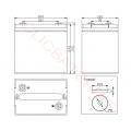 Esquemas Baterías Fullriver DC224-6A