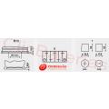 Esquema batería de coche Varta Start-Stop Plus AGM F21