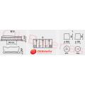 Esquema batería de coche Varta Start-Stop Plus AGM D52