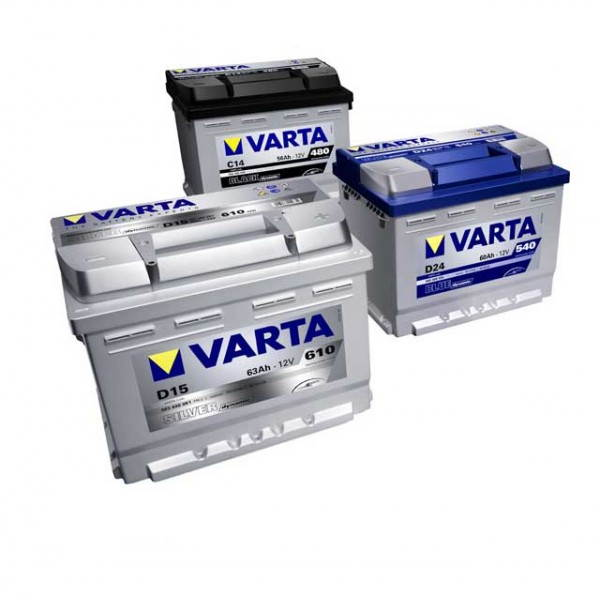baterías varta