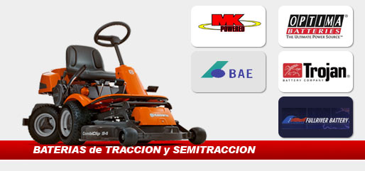 Bateria semitraccion